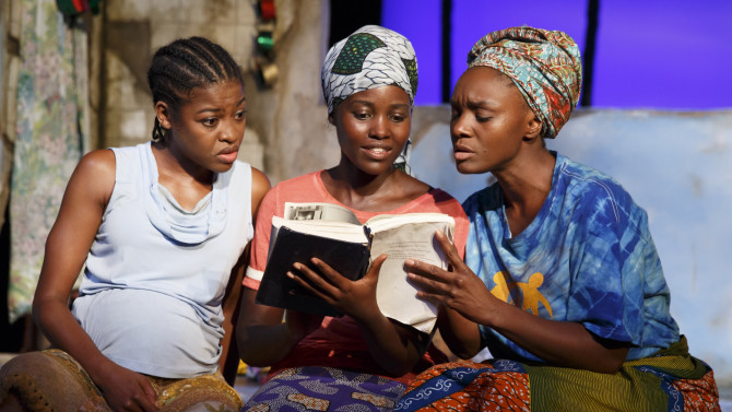 Eclipsed Is Making Broadway History