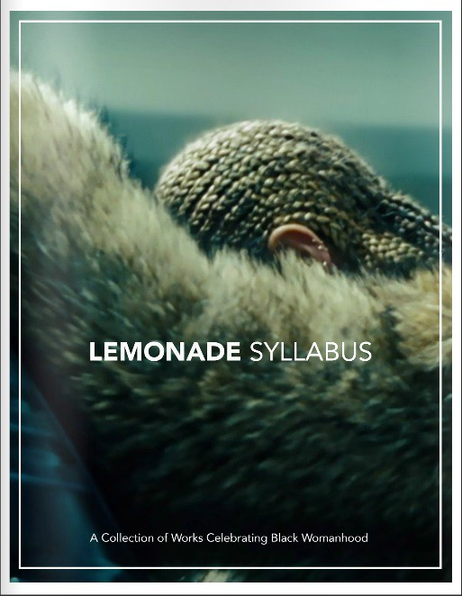 Lemonade syllabus celebrates black womanhood