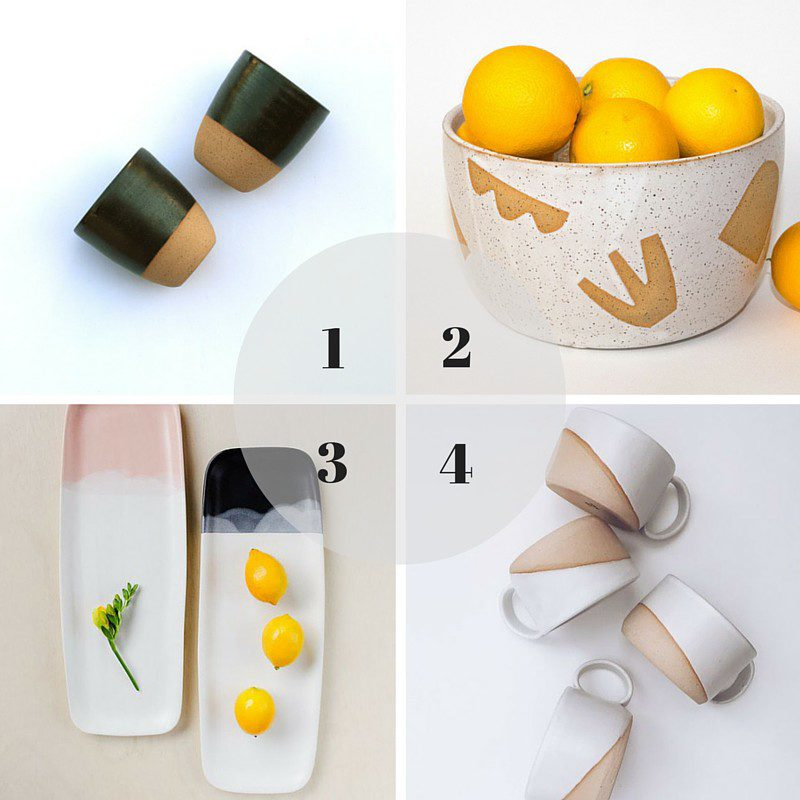 4 cool pottery pieces for everyday life