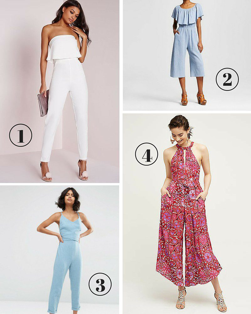 jump into these five summer jumpsuits