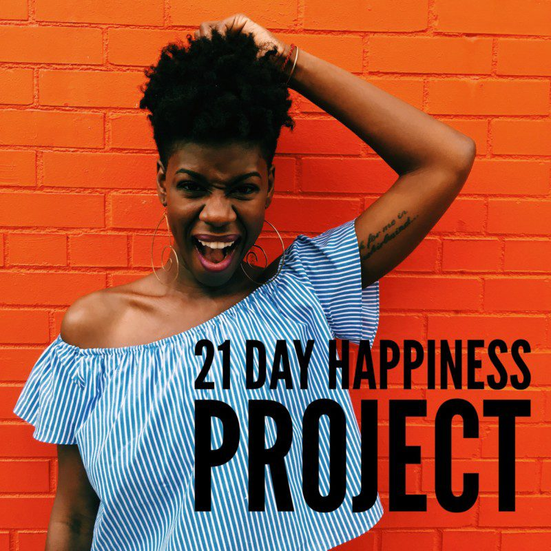 Starting a 21 Day Happiness Project