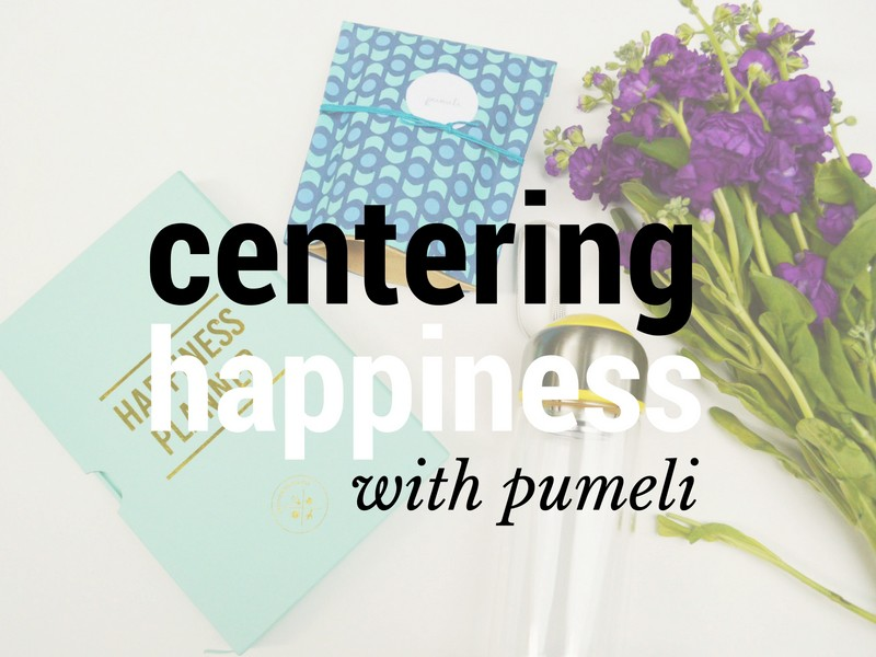 Centering Happiness with Pumeli