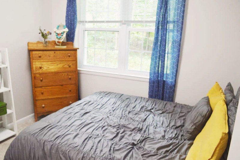 spare bedroom makeover with at home