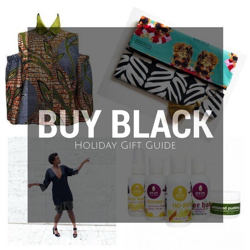 #BuyBlack Holiday Gift Guide