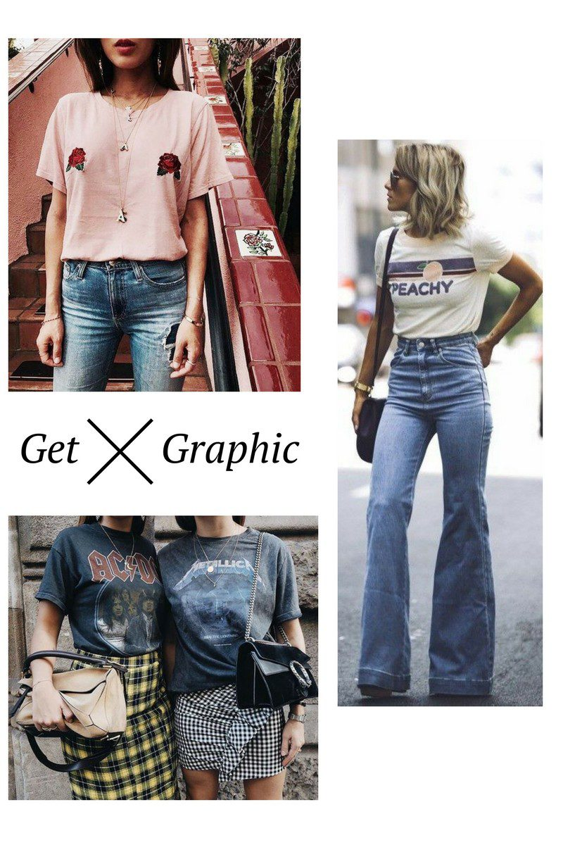 Must Have Spring Trends: How to Wear Graphic Tees