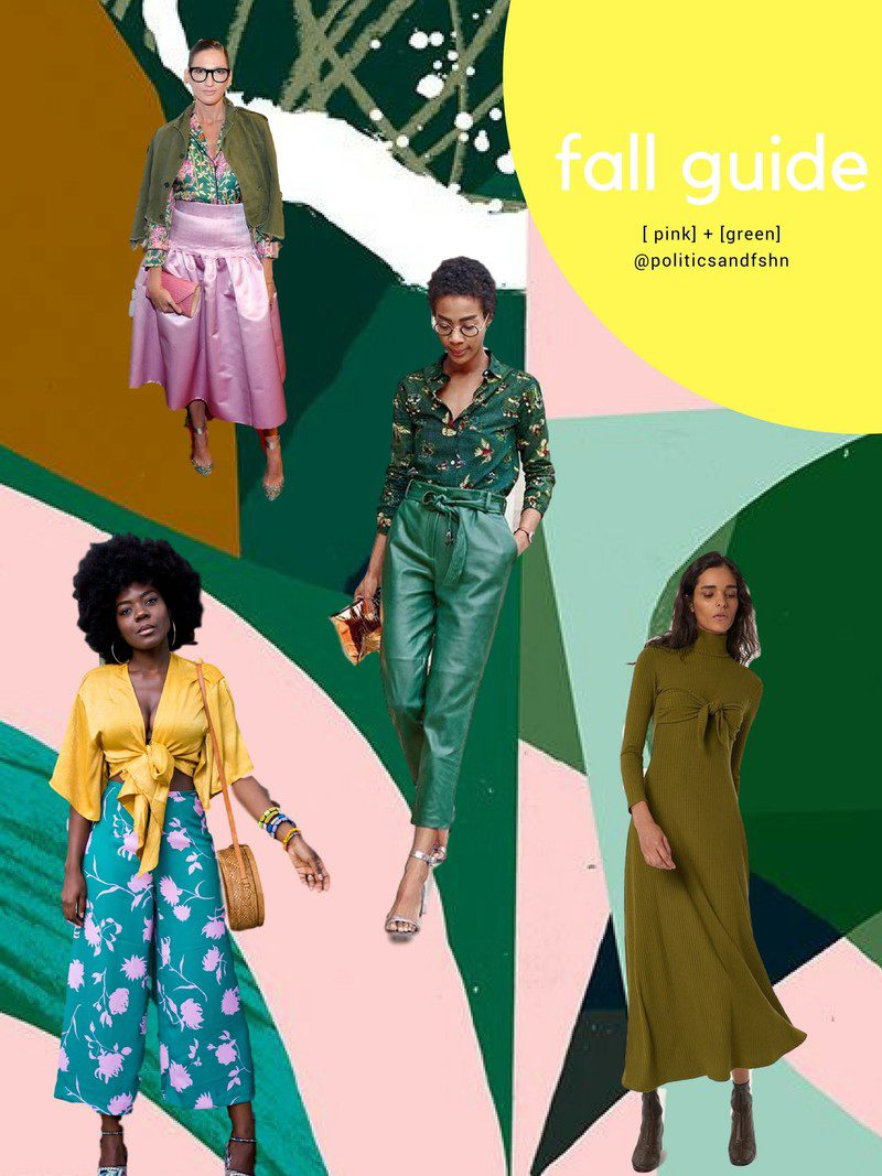 The Best in Pink and Green for Fall